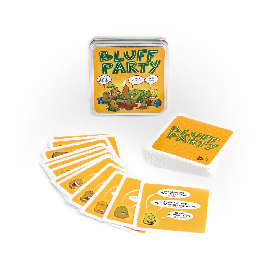 Bluff Party  Un jeu de Christian Lemay  Jeu de société  Tric Trac