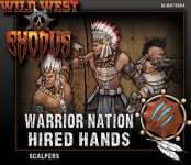 SCALPERS WARRIOR NATION HIRED HANDS