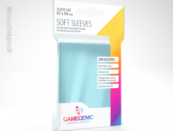 100P SOFT SLEEVE GAMEGENIC
